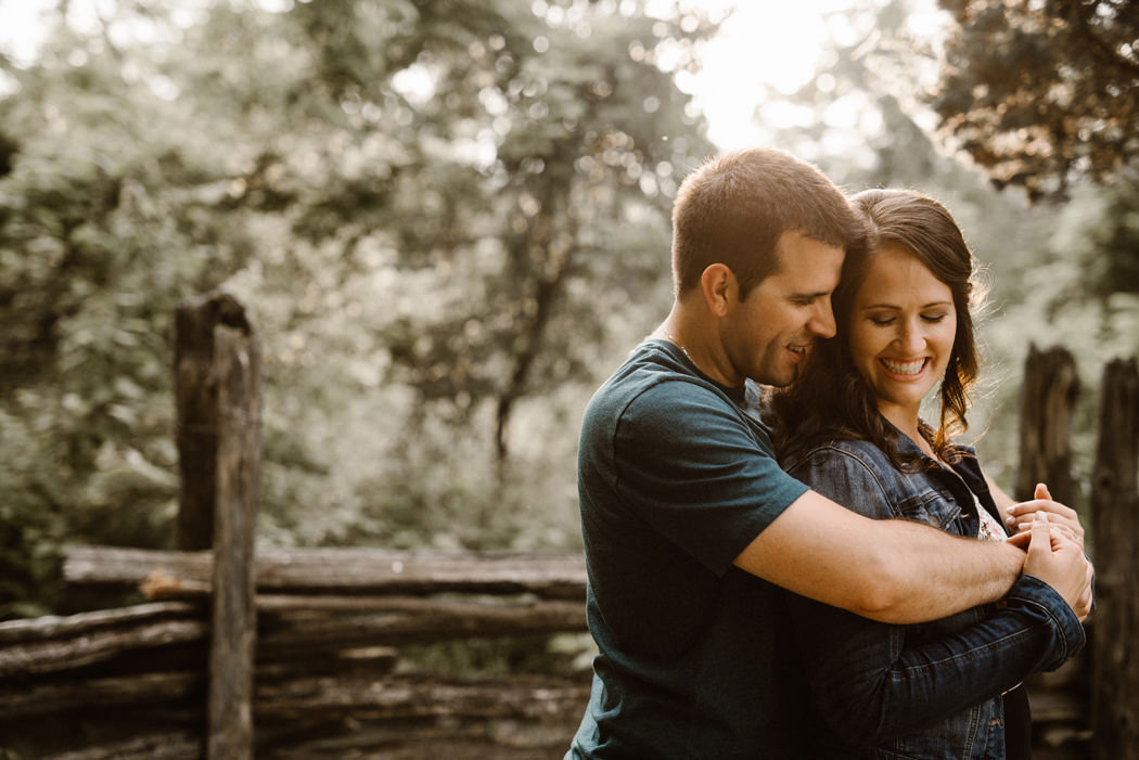 Point Pelee engagement session
