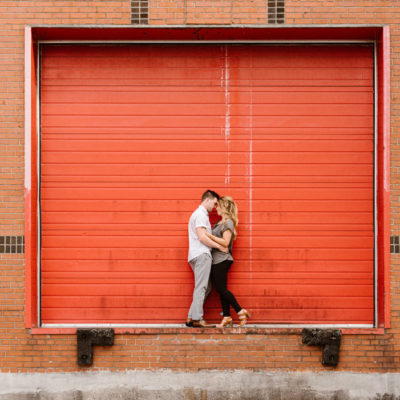 engagement session in Walkerville