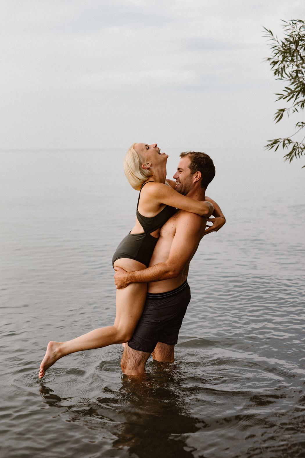 Pelee Island engagement session